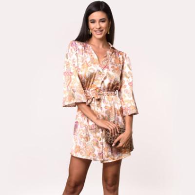 Γυναικείο φθινοπωρινό φόρεμα από τη συλλογή της Amelies