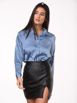 Γαλάζιο γυναικείο πουκάμισο από τη συλλογή της Amelies