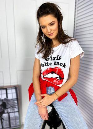 Γυναικείο tshirt με στάμπα από τη συλλογή της Amelies