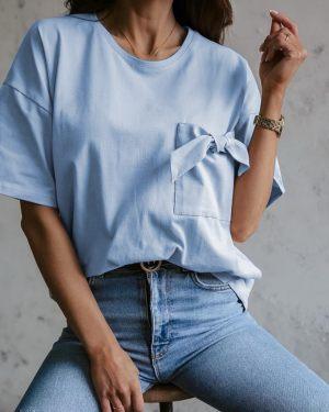 Γαλάζιο one-size t-shirt από την κολεξιόν της Amelies
