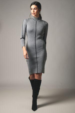 Γκρι γυναικείο φόρεμα από τη συλλογή της Amelies