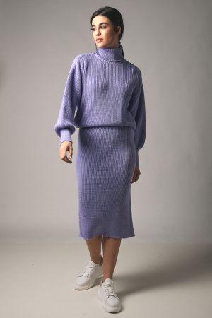 Λιλά γυναικείο σετ ρούχων από την κολεξιόν της Amelies
