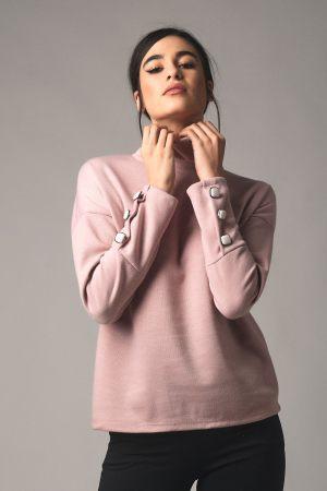 Ροζ γυναικείο ζιβάγκο από τη συλλογή της Amelies