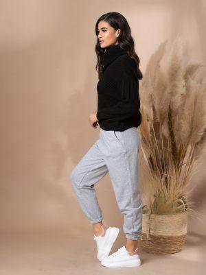Γκρι γυναικείο παντελόνι φόρμας από τη συλλογή της Amelies