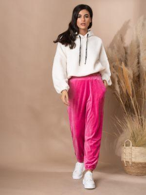 Φουξ βελούδινο παντελόνι από την κολεξιόν της Amelies