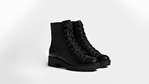 Black women's ankle boots from Amelies