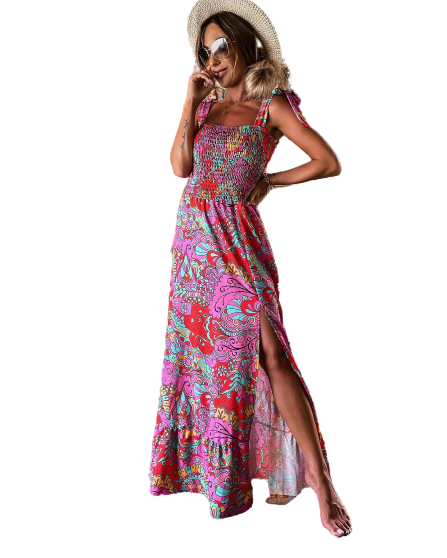 Φόρεμα Vanessa Λιλά - Amelie's -