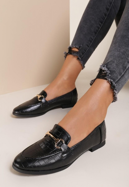 Loafers Natalie Μαύρο